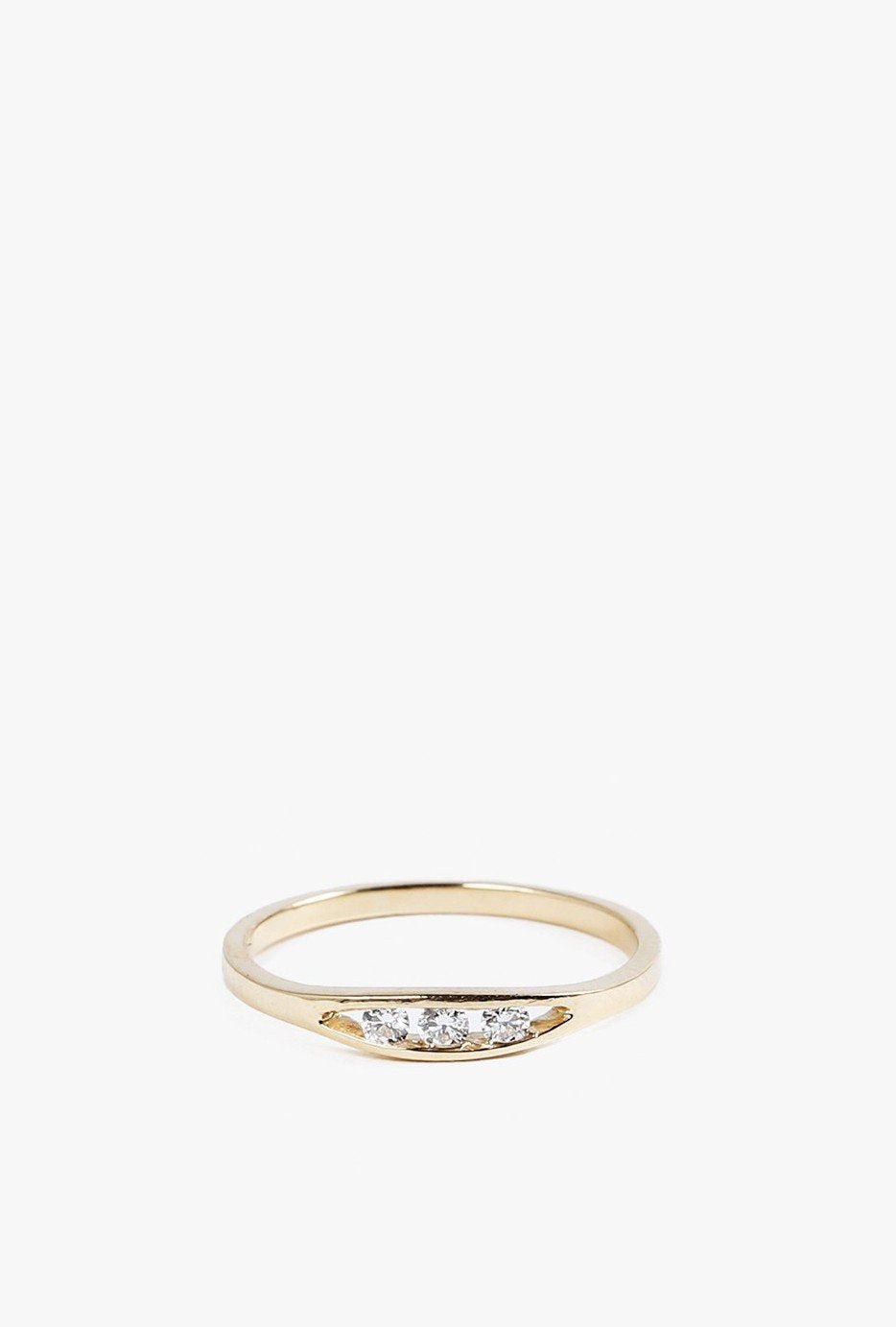 Float Diamond Ring