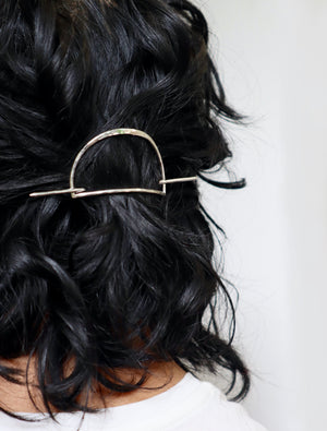 Half Moon Hair Slide