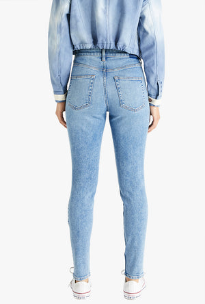 Giselle High Rise Skinny Jean in Hotel California