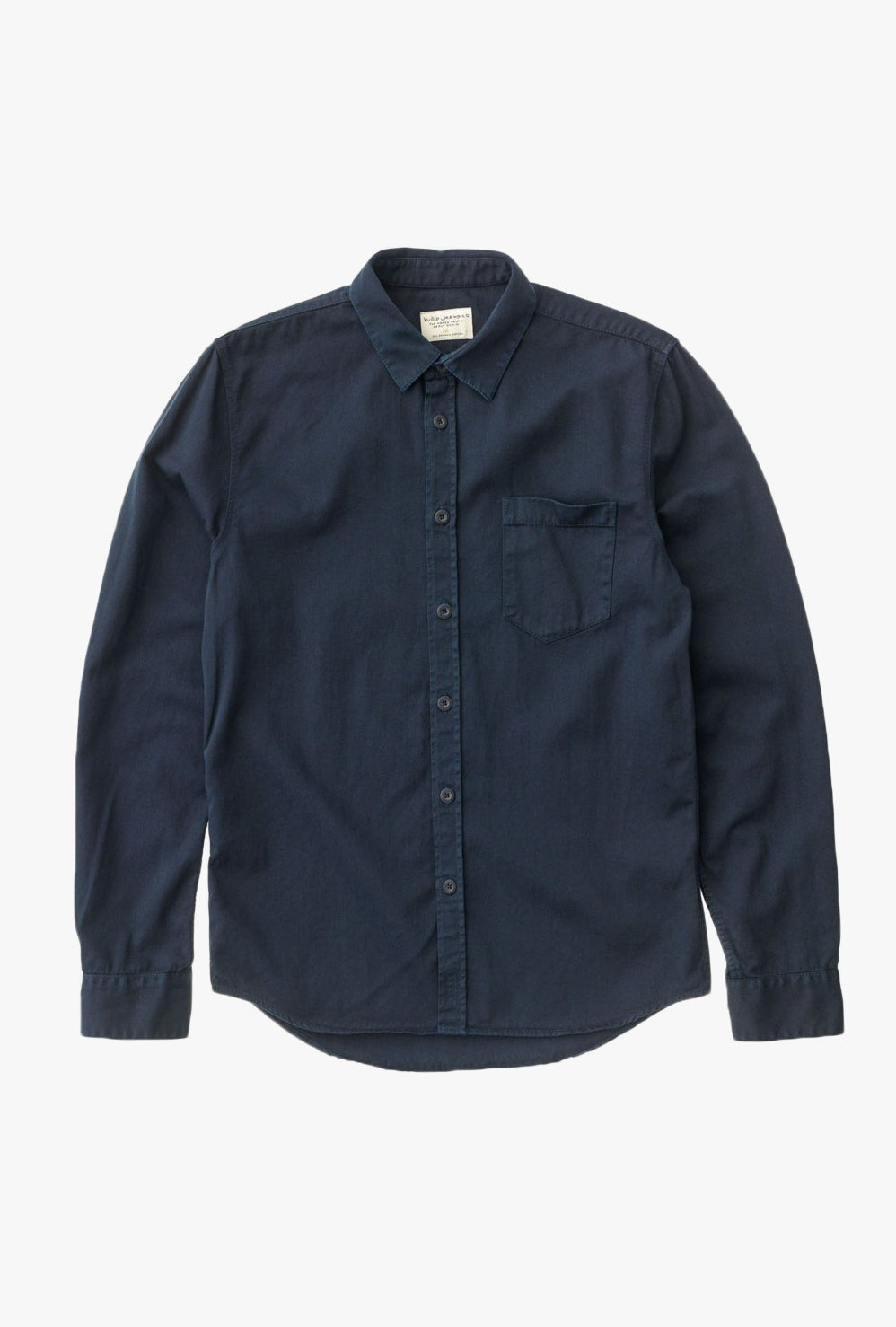 Henry Pigment Dyed L/S Shirt
