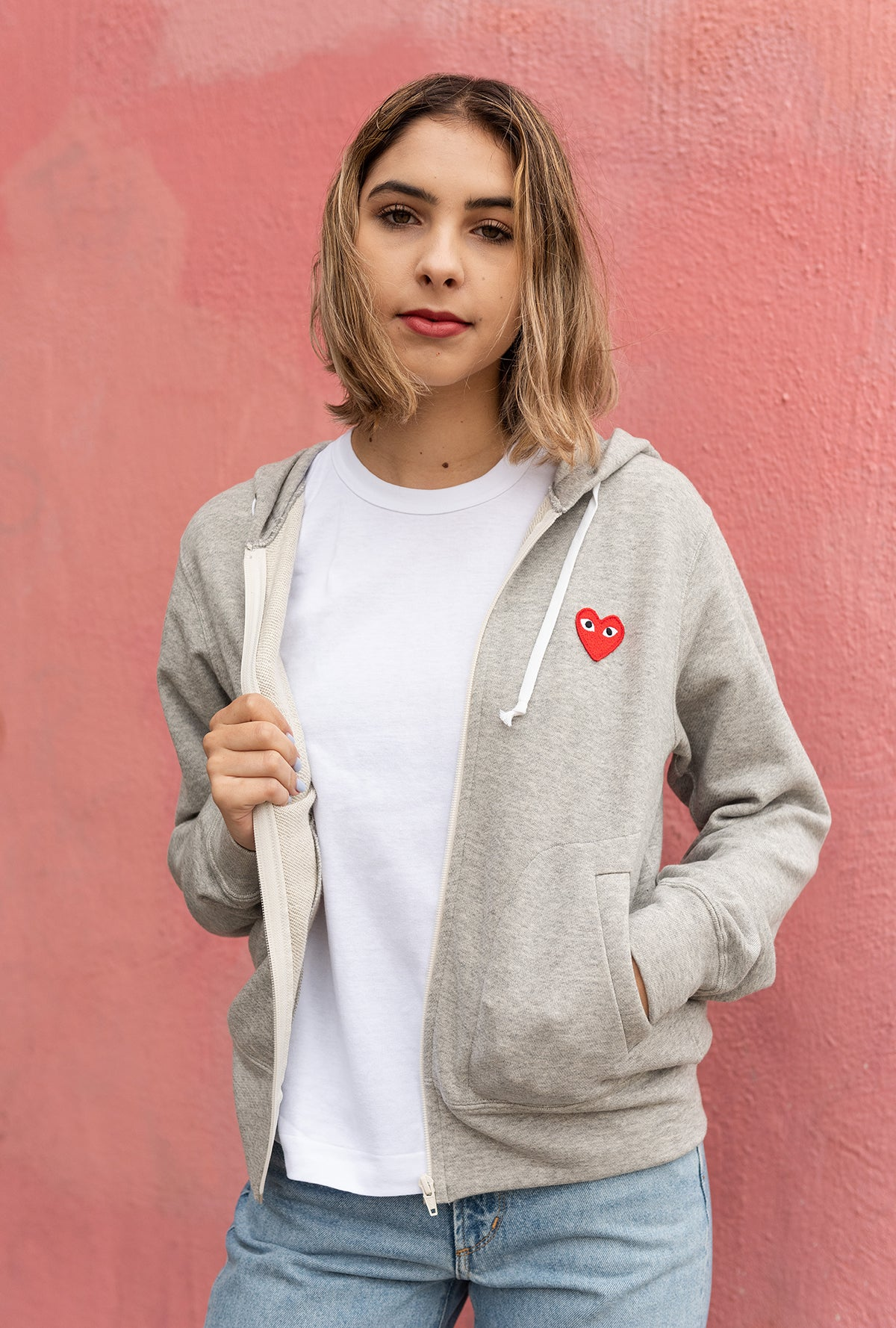 Play Red Heart Sweatshirt