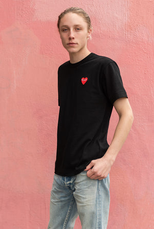 Men's Classic Red Heart Patch Tee