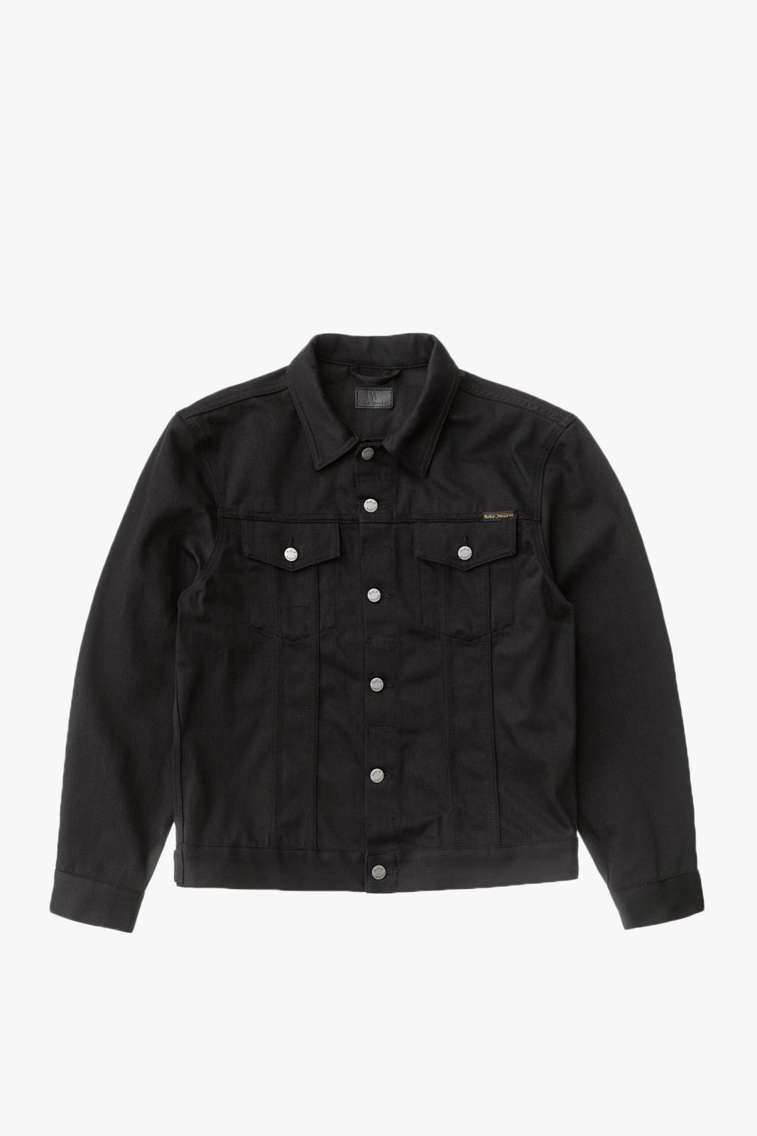 Jerry Dry Black Twill Jacket
