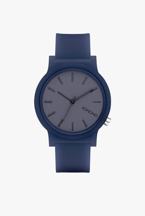 Mono Navy Glow Watch - Navy Glow