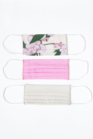 Reusable Face Masks Pack in Summer