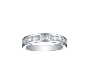 Essentials 1.50ct Half Eternity Channel Band