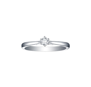 Essentials 0.15ct Solitaire Engagement Ring