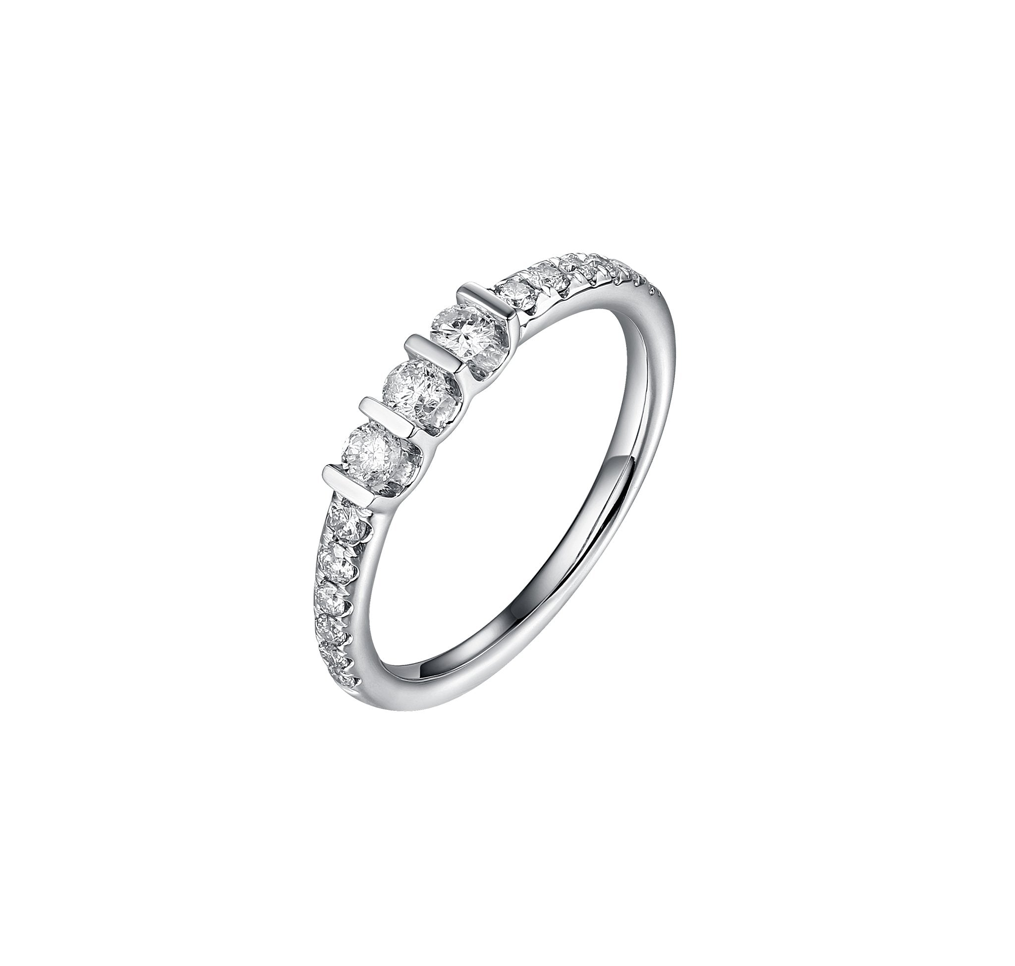Essentials Three Stone Stackable Band