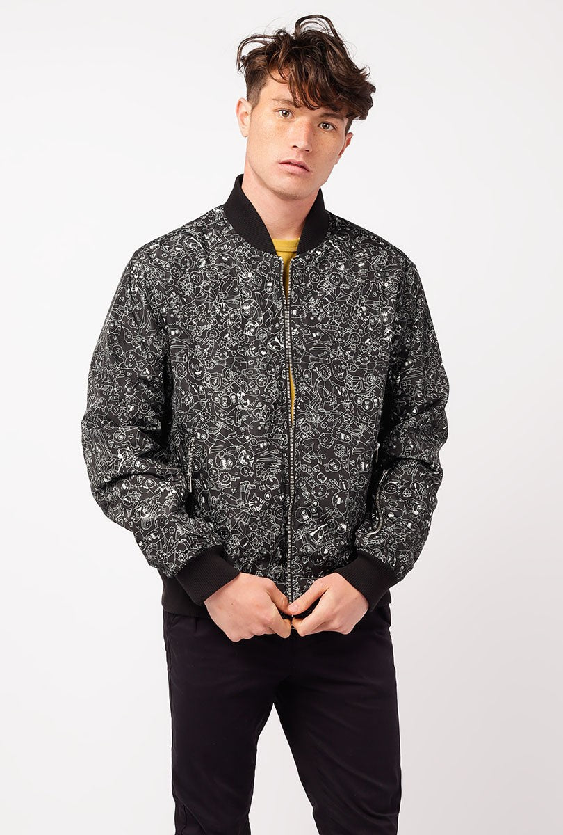 Light Reversible Bomber Jacket