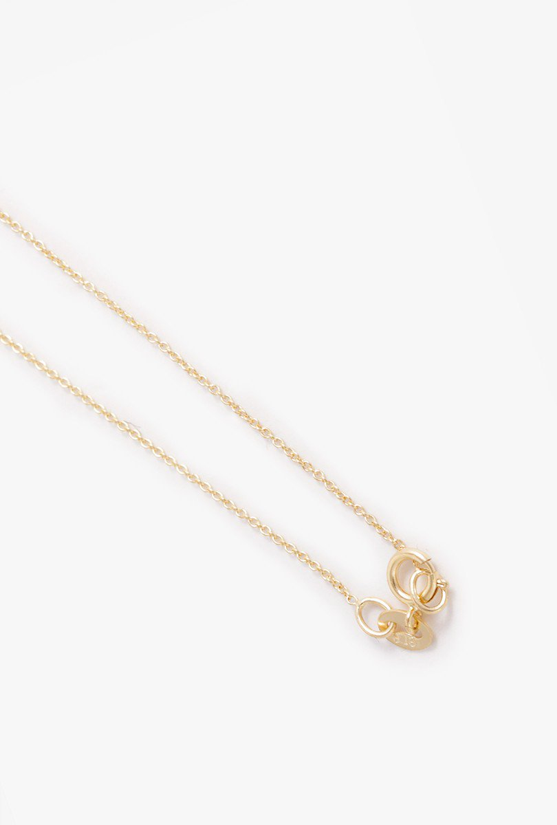 Mini Rising Tusk Diamond Necklace