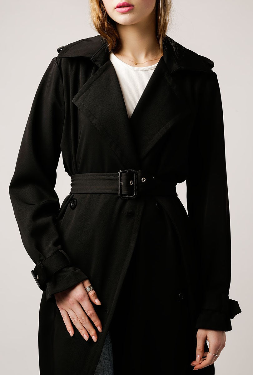 Nadine Rain Guard Trench Coat