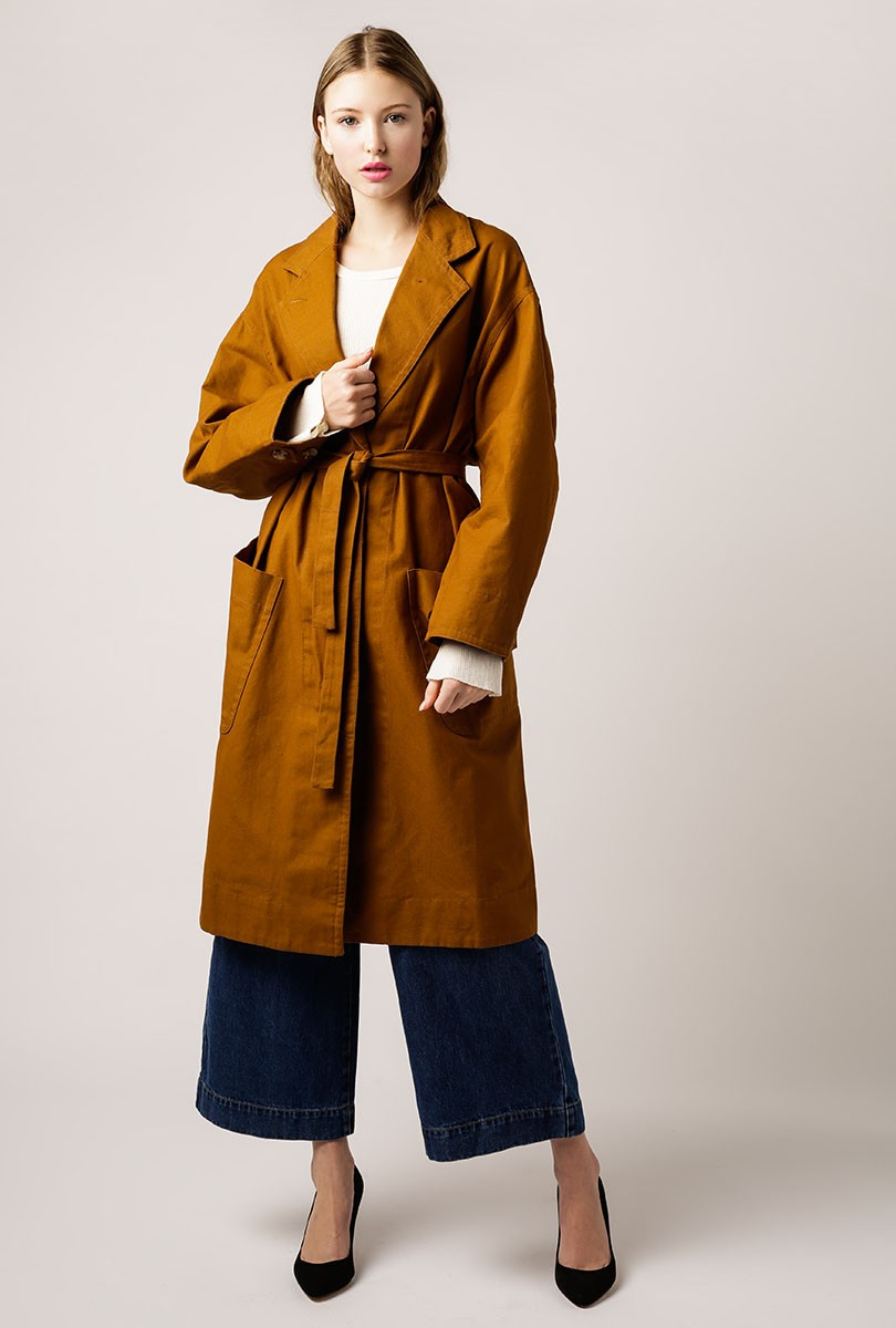 Naples Belted Trench Coat