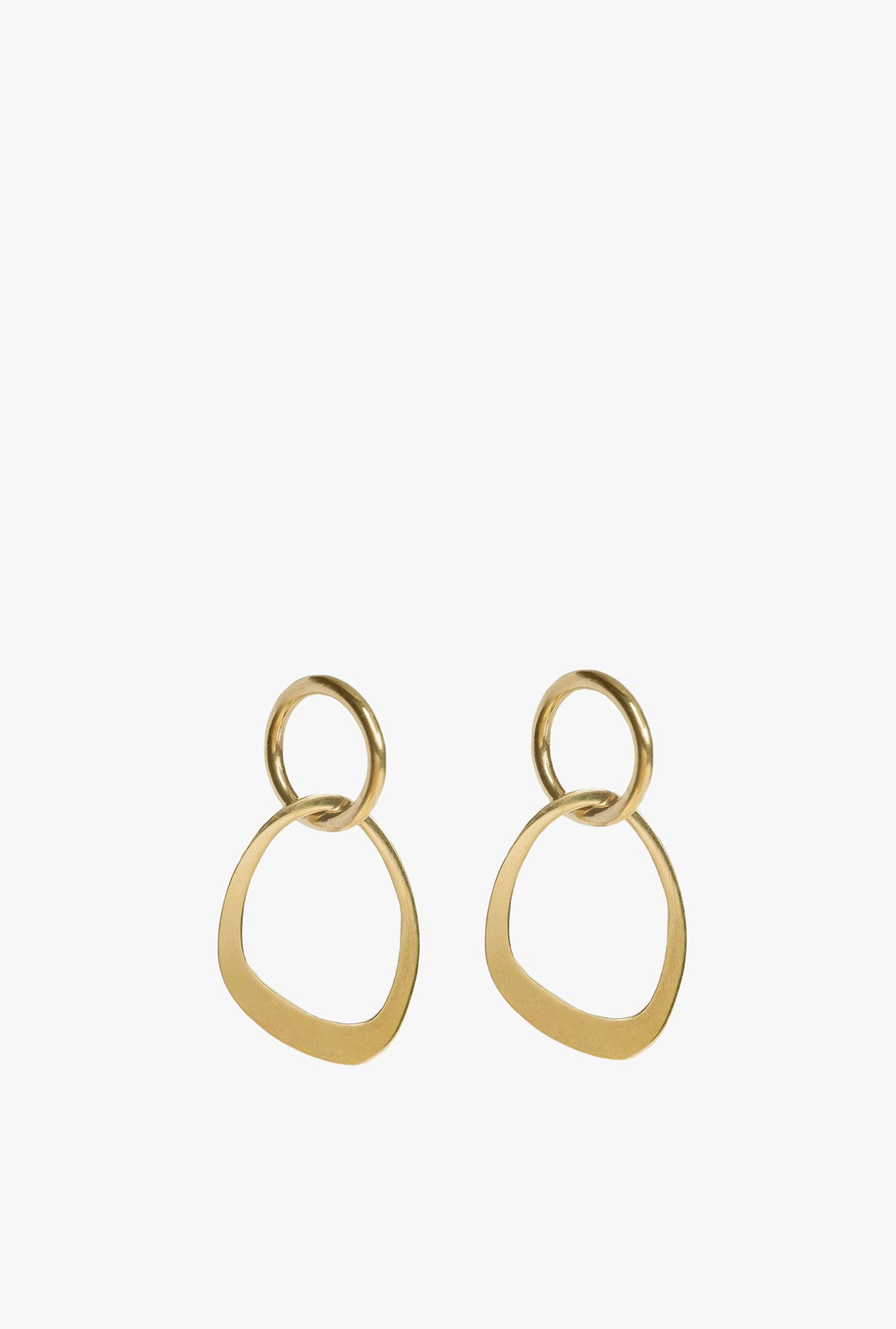 Open Sabi Link Stud Earrings