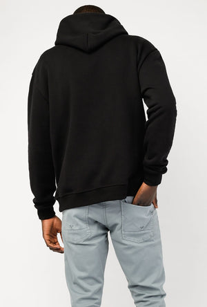 Oversize Cropped Hoodie