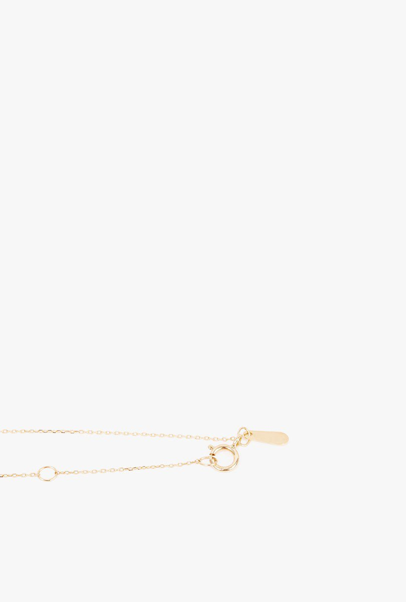 Pave Double Bar Lariat Necklace