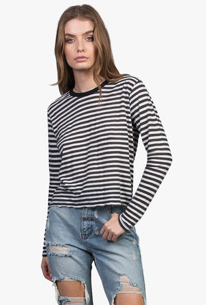 Stripe Box Longsleeve Tee