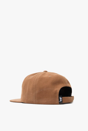 Slub Cotton Strapback Cap