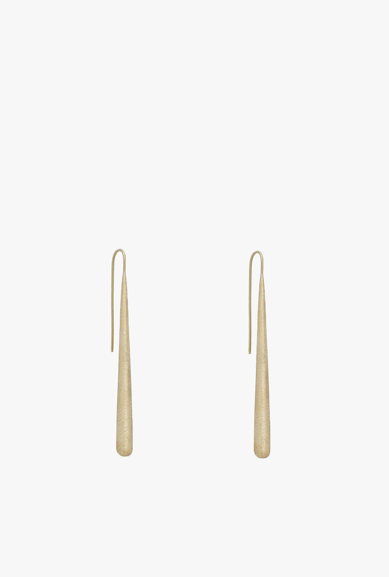 Textured Pia Threader Earrings
