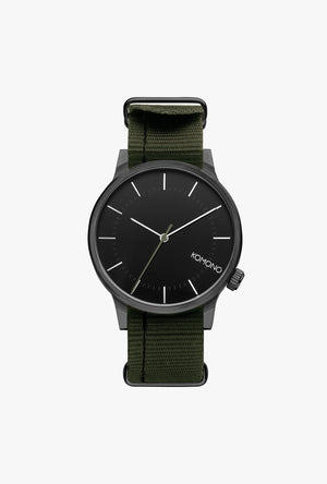 Winston Regal Watch - Nato Black