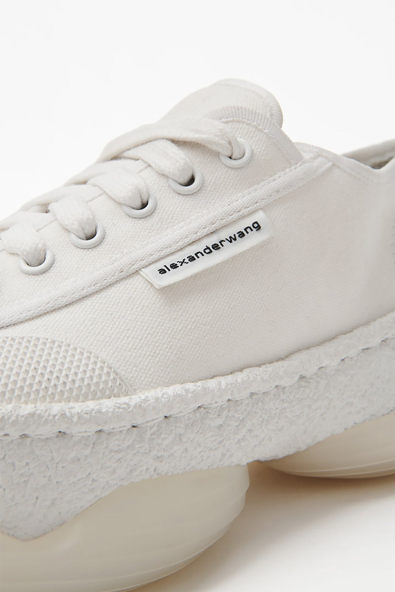 A1 White Canvas Low Top Sneaker