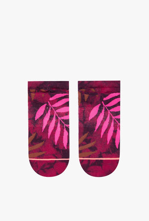 Acid Jungle Invisible Boot Sock