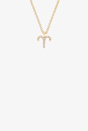 Diamond Aries Necklace