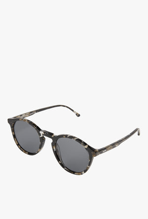 Aston Sunglasses - Clear Demi