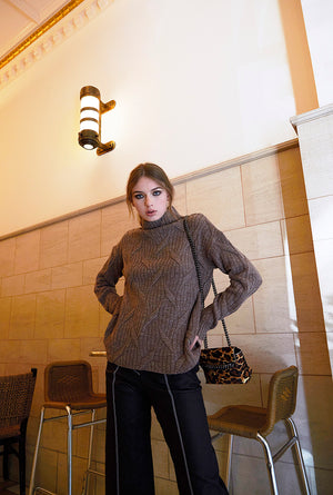Autumn Leaf Cashmere Sweater