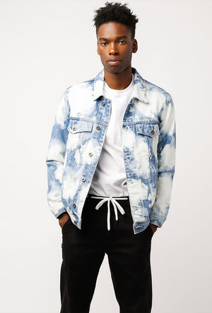 B Rigid Denim Jacket