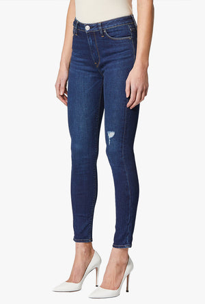 Barbara High Waist Skinny Ankle Jean in Shapeless