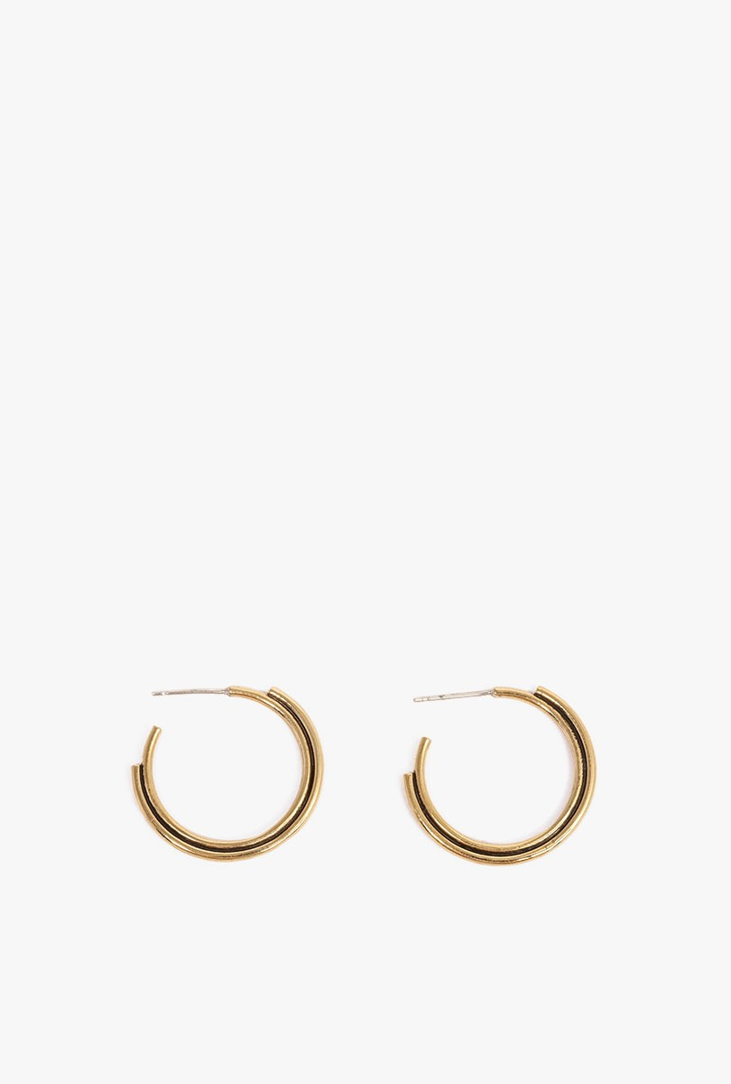 Big Arc Hoop Earrings P