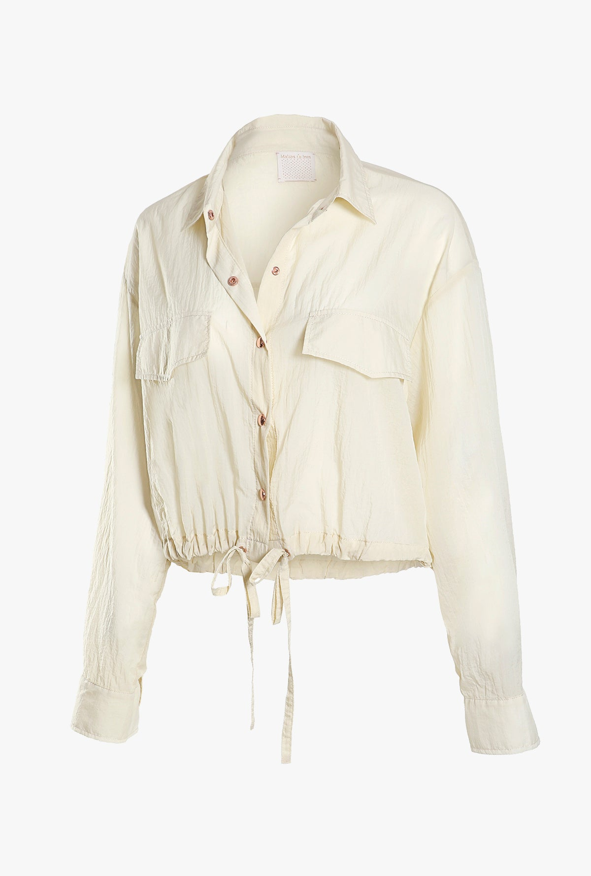 Sheer Blouson Jacket