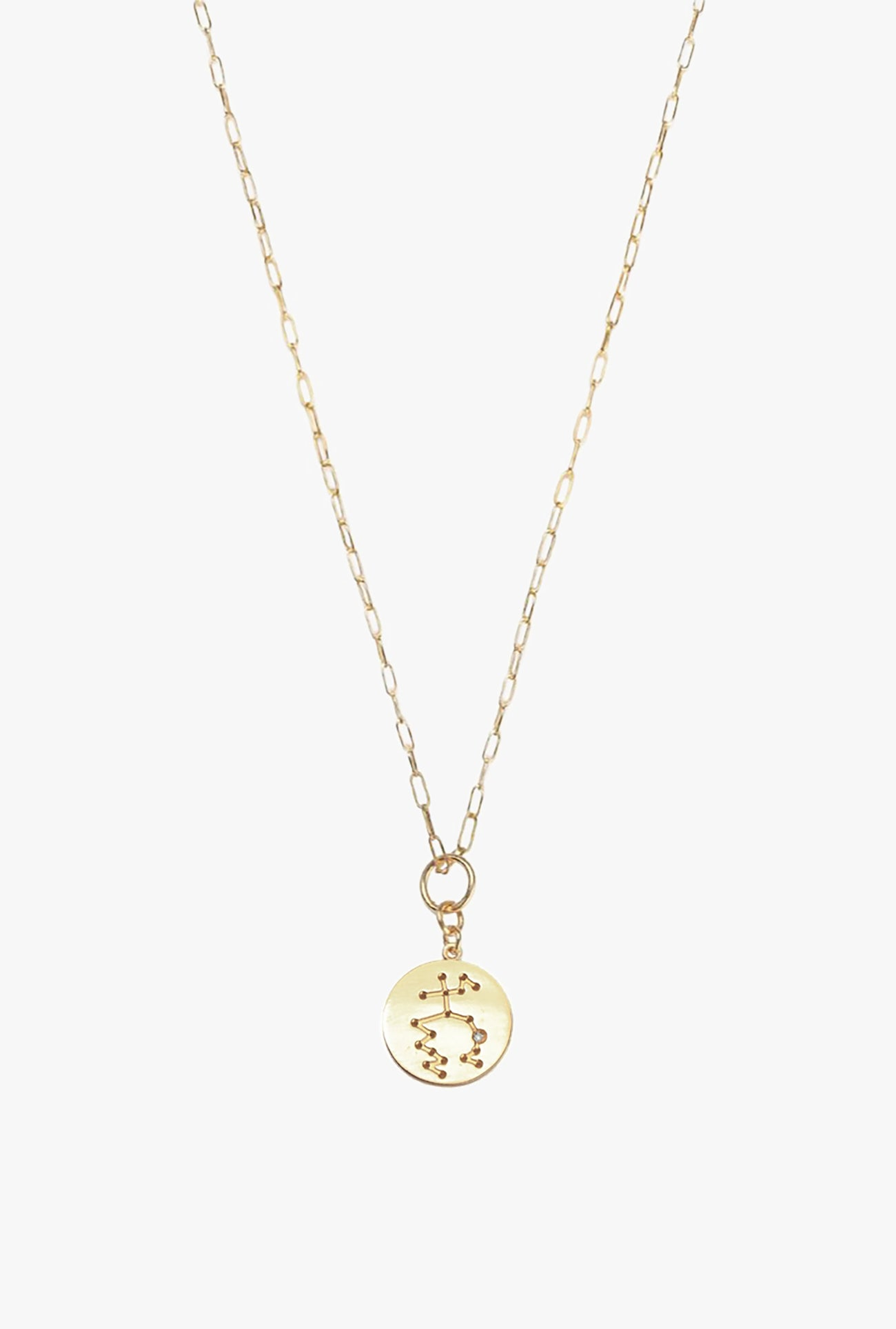 Constellation Aquarius Charm Necklace