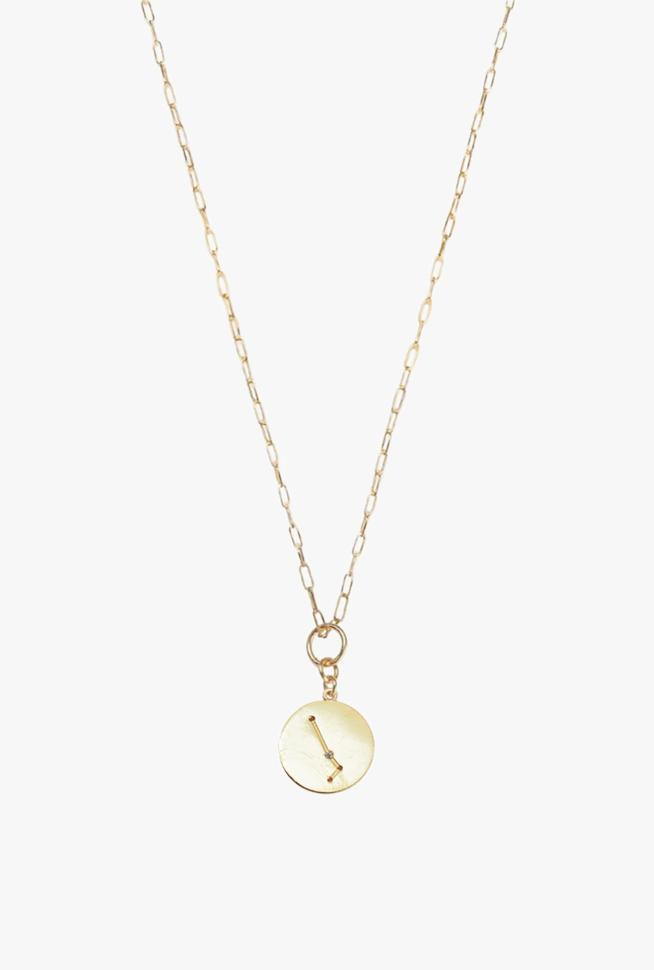 Constellation Aries Charm Necklace