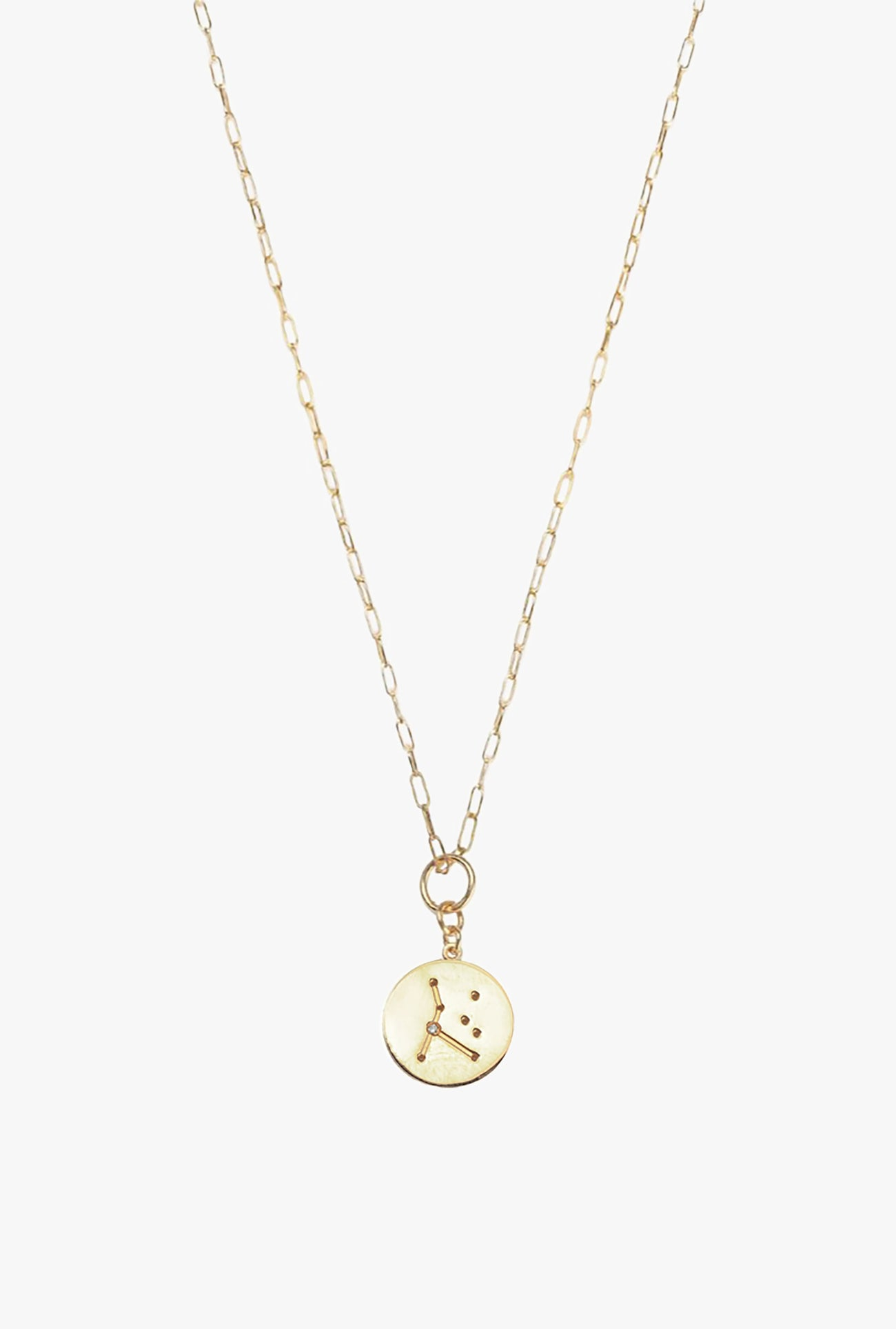 Constellation Cancer Charm Necklace
