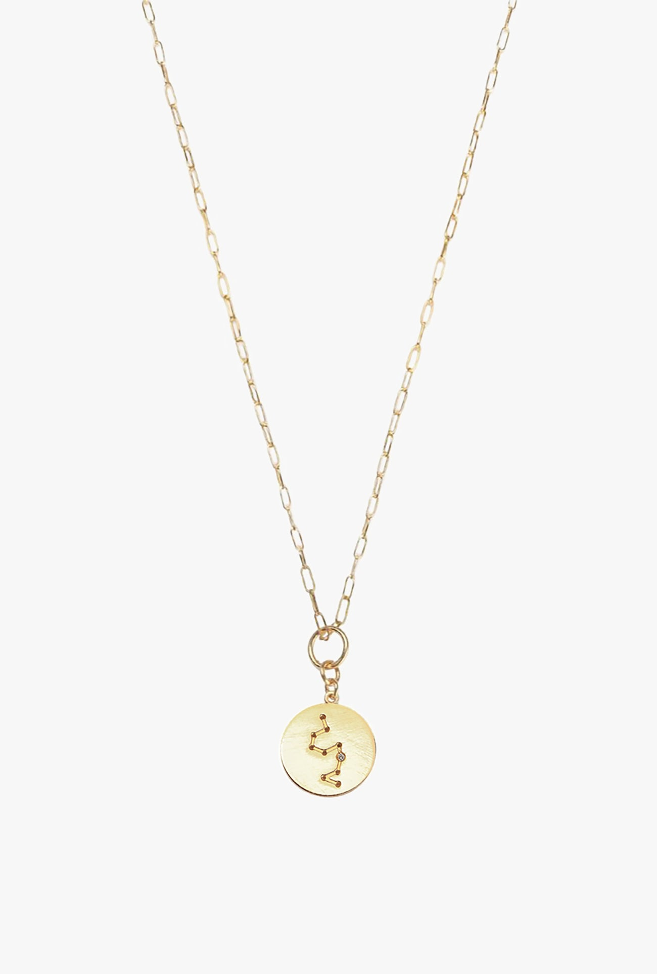 Constellation Leo Charm Necklace