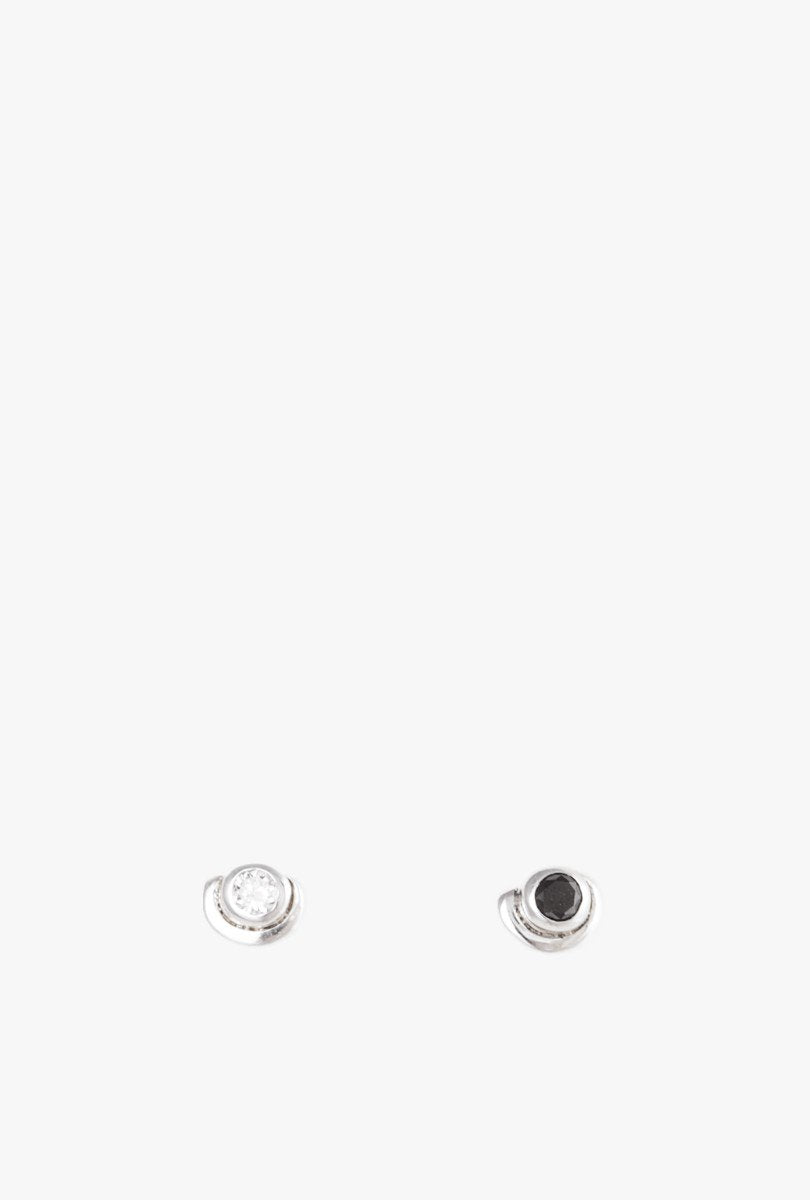 Contour Stud Earrings