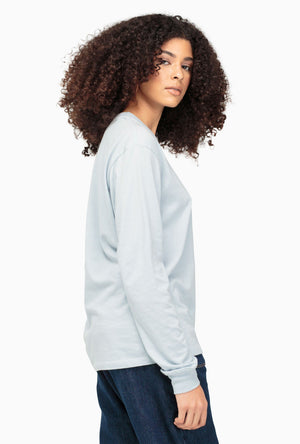 Crew Pocket Long Sleeve Top