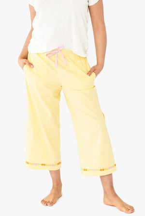 Cropped Leisure Pants