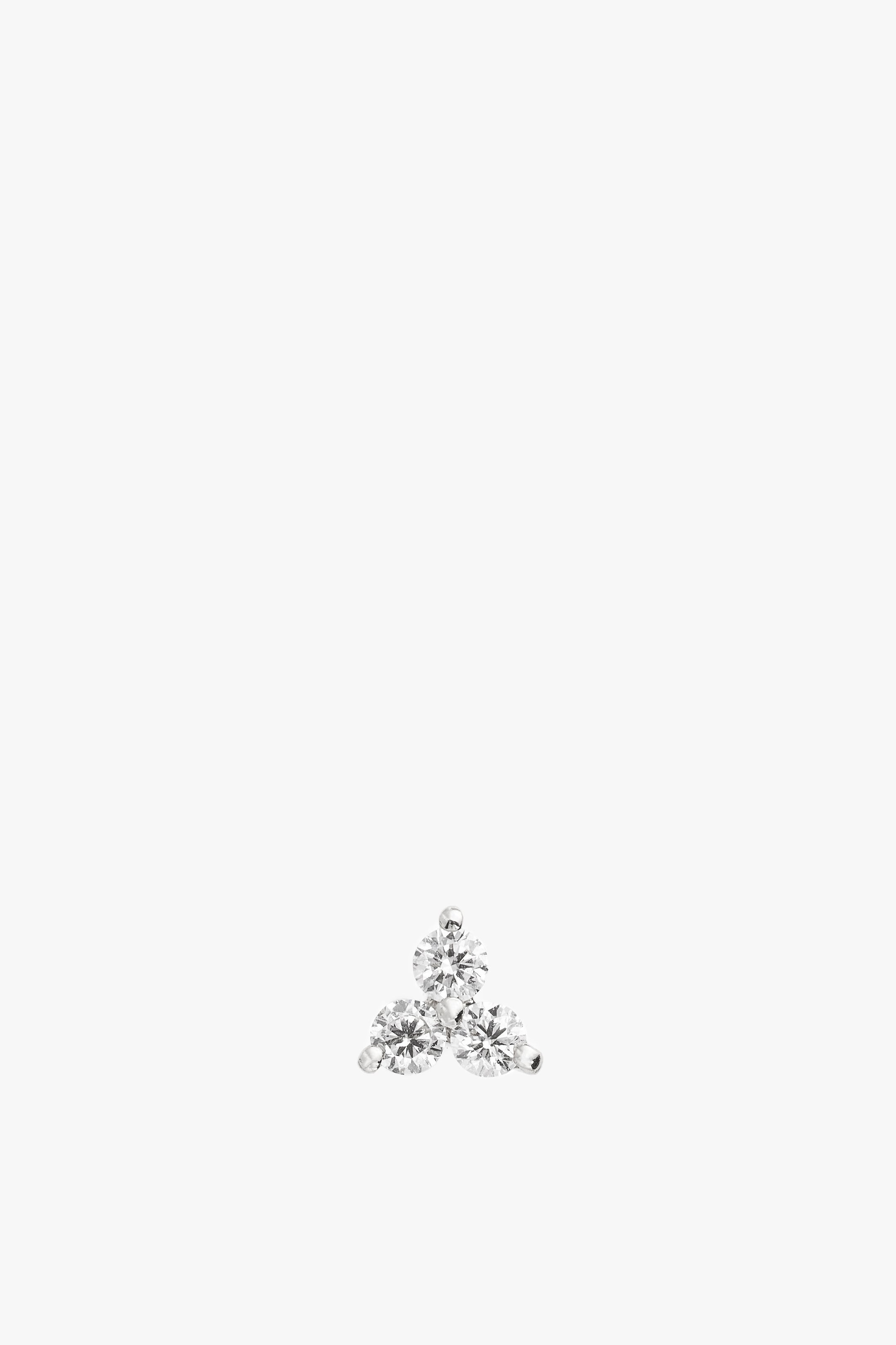 Diamond Trio Stud Earring S