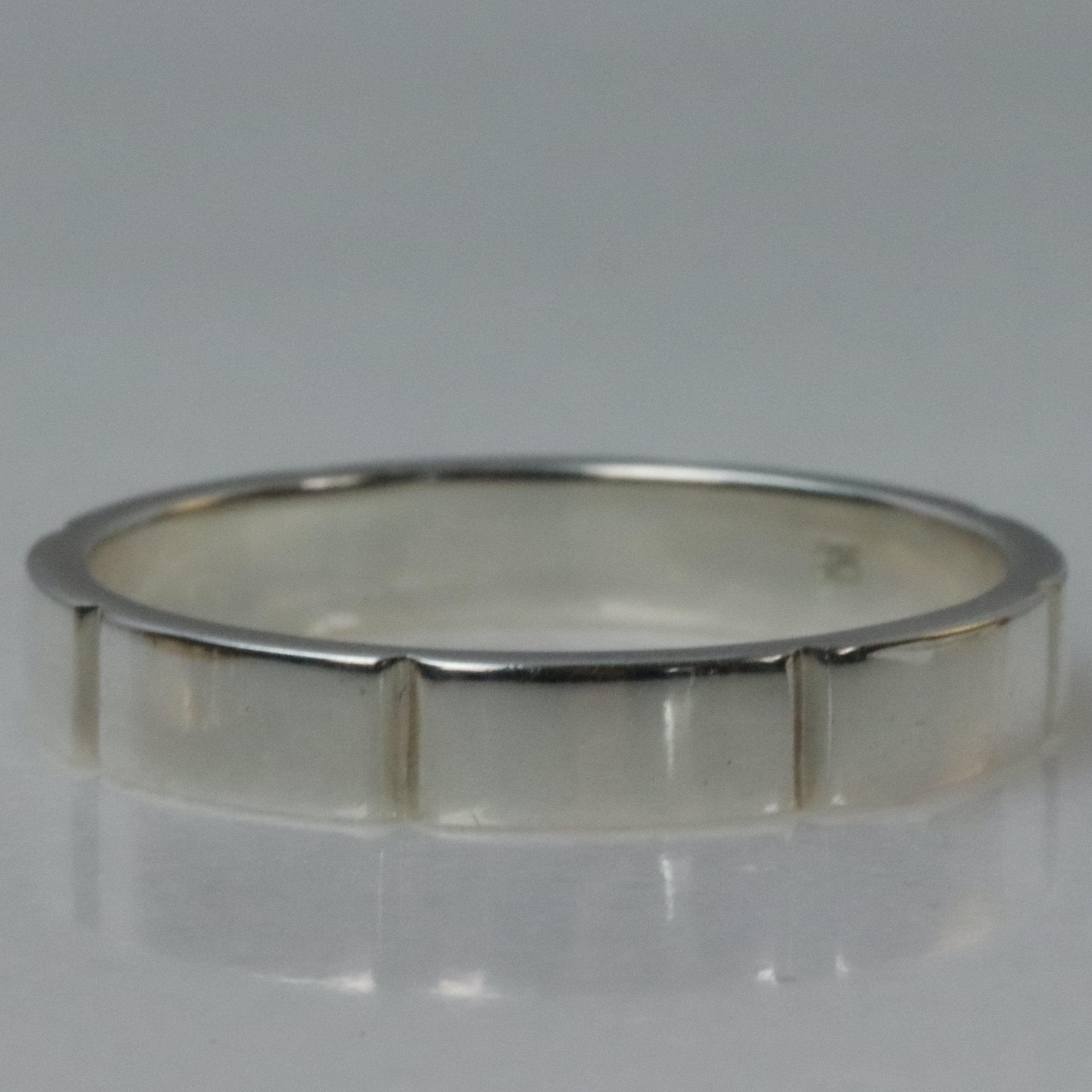 CHUNKY BAND RING, SILVER