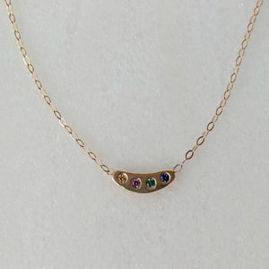 PAINTER'S PALETTE NECKLACE
