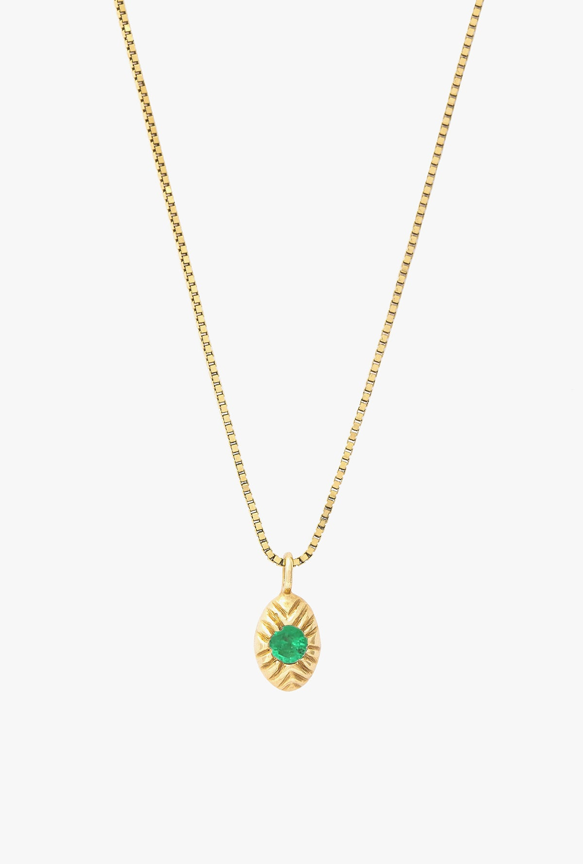 Seedling Emerald Necklace