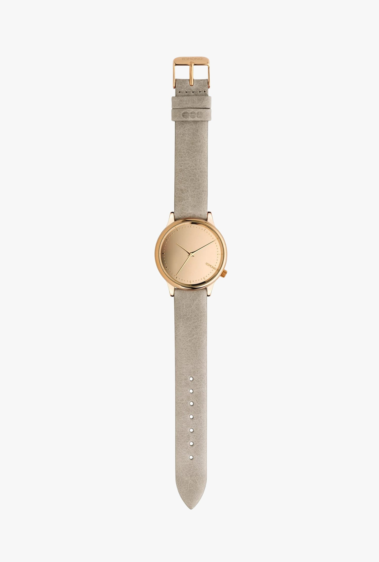 Estelle Mirror Watch - Rose Grey