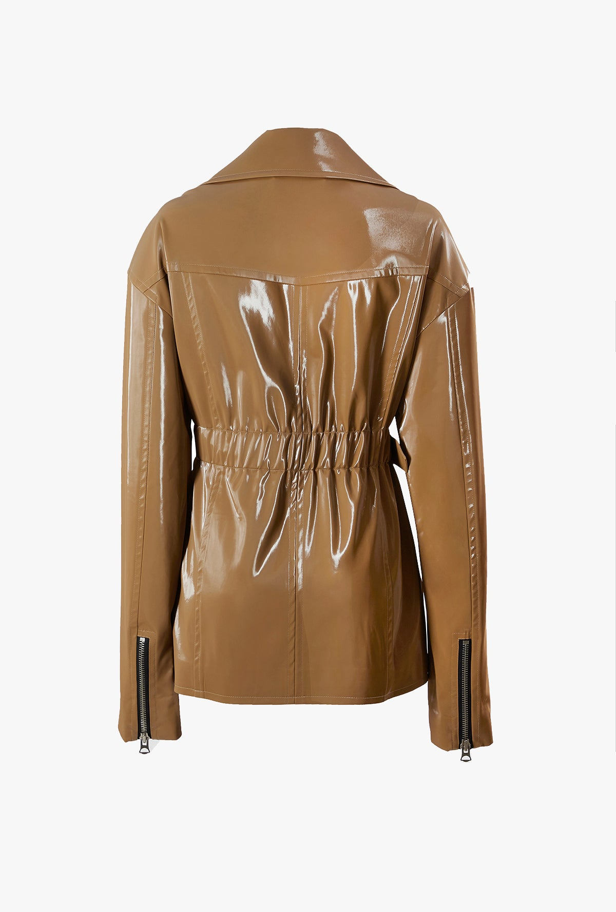 Faux Leather Rider Jacket