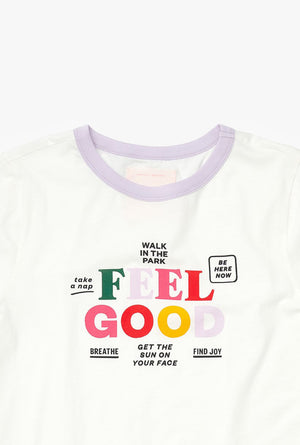 Feel Good Ringer Tee