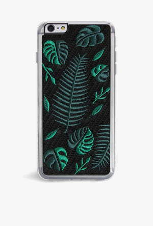 Fern Embroidery Case
