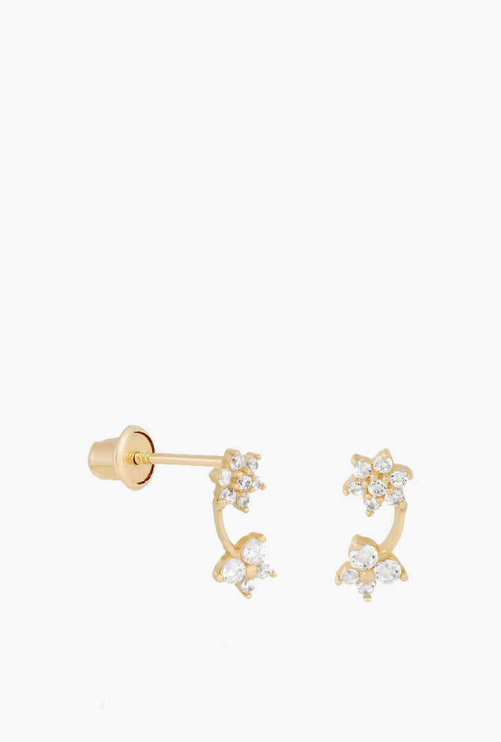 Fine Garden Party Stud Earrings