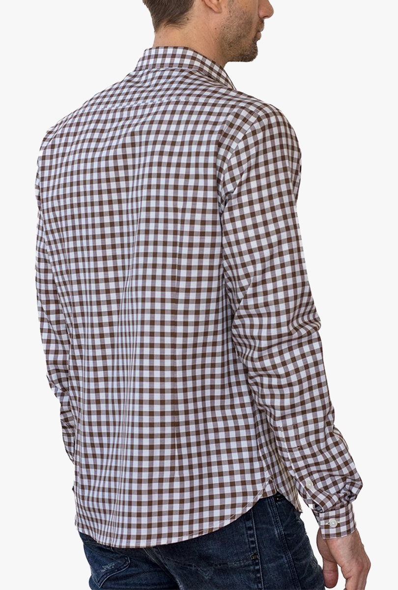 Modern Fit Long Sleeve Shirt