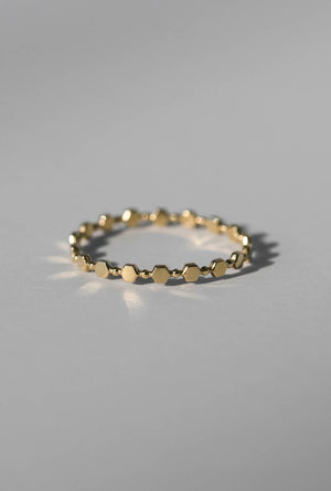 Hex-Beaded Ring